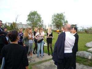 姉妹都市・オランダ(旧)スネーク市 学生交流の様子