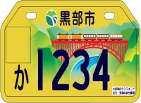 Yellow number plate. png