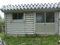 餓鬼山避難小屋の外観
